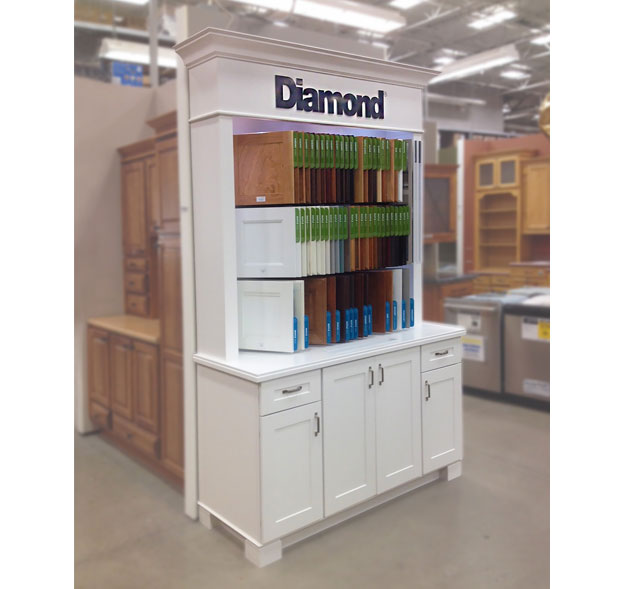 Masterbrand Cabinet Floor Display Point Of Purchase