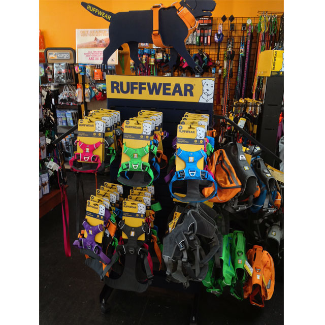 Ruffwear Floor Display Caters To Outdoor Experiences