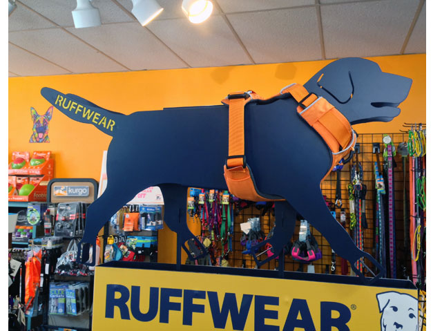 Ruffwear Pet Care Floor Display