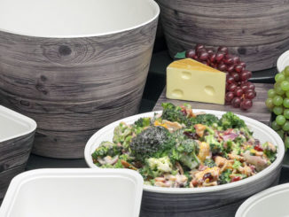 New Haven Oak-Look Melamine Servingware