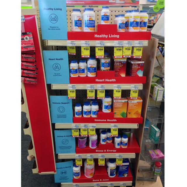 CVS Expands Healthy Living Product Line