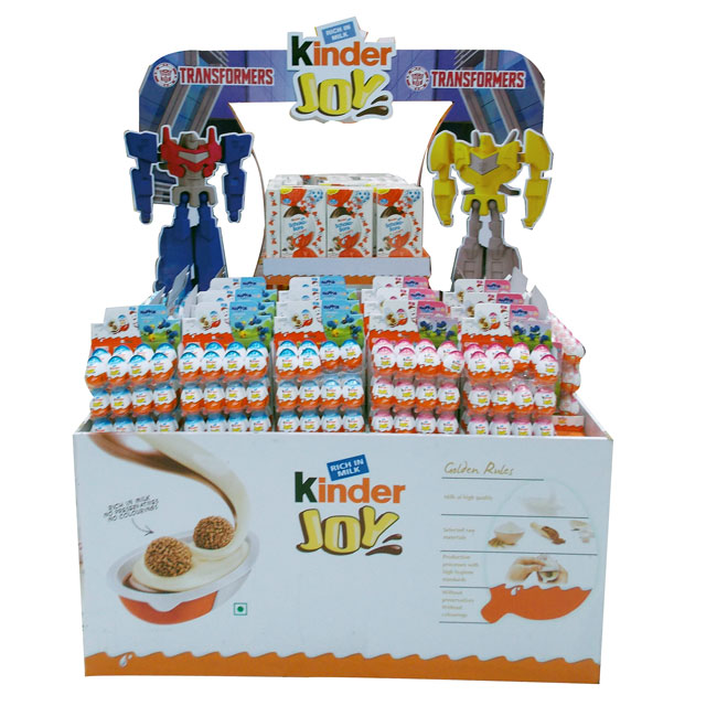 Kinder Transformers Floor Display