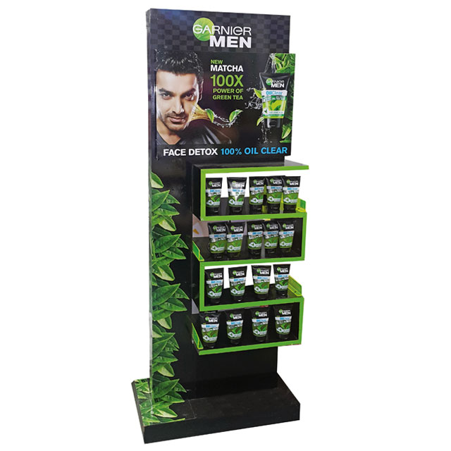 Garnier Men Face Detox Floor Display