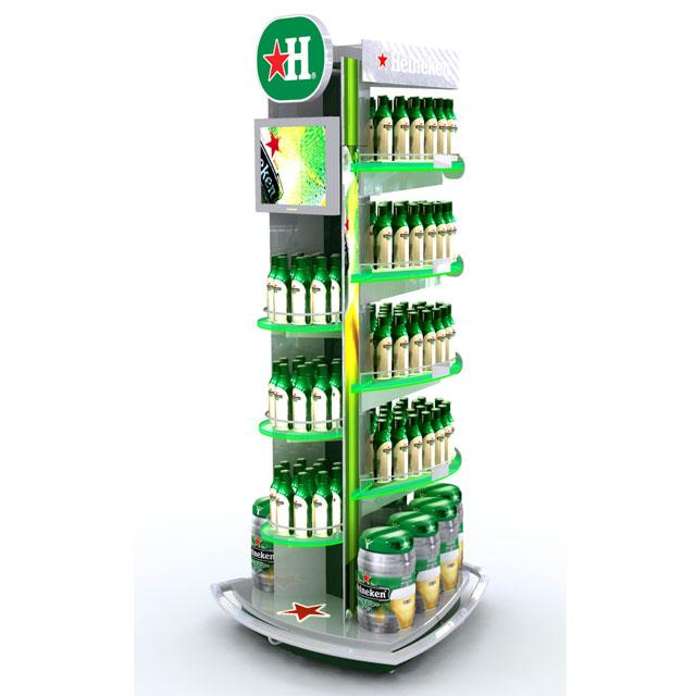 Heineken Floor Display