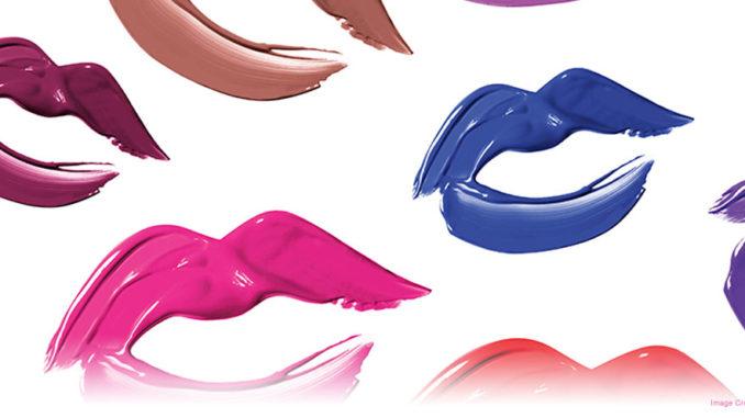 Covergirl Liquid Lipstick Shelf Display