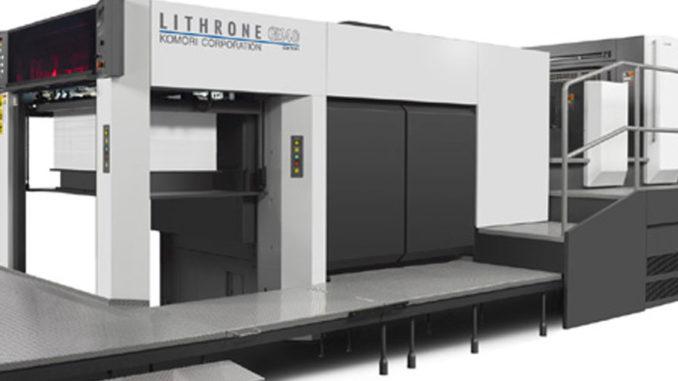 Komori Offset Printing Press
