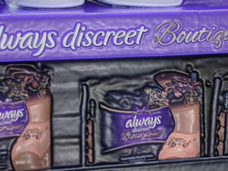 Always Discreet End Cap Display