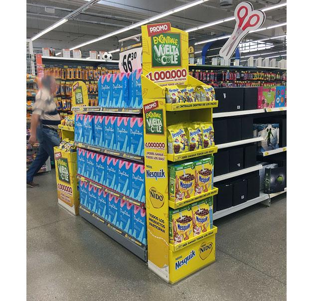 Back to School Nestle Display