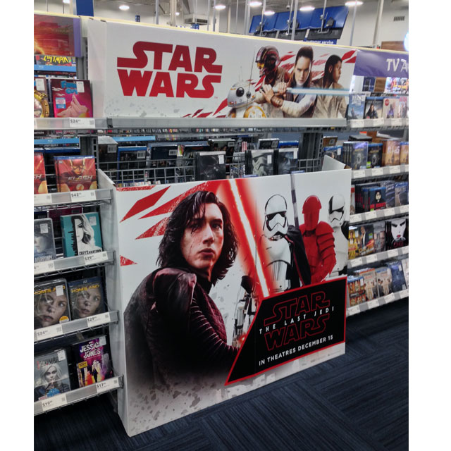 Star Wars Last Jedi Inline Display