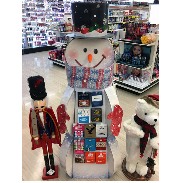 Snowman POP Display