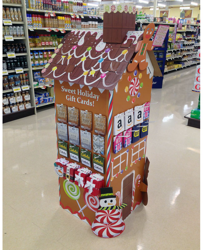 Sweet Gift Cards Floor Display