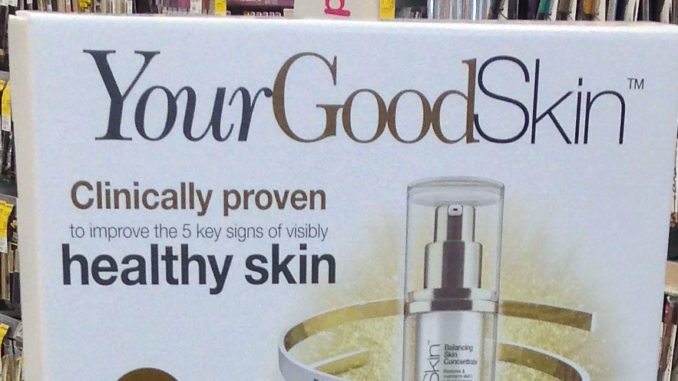 YourGoodSkin Floor Display