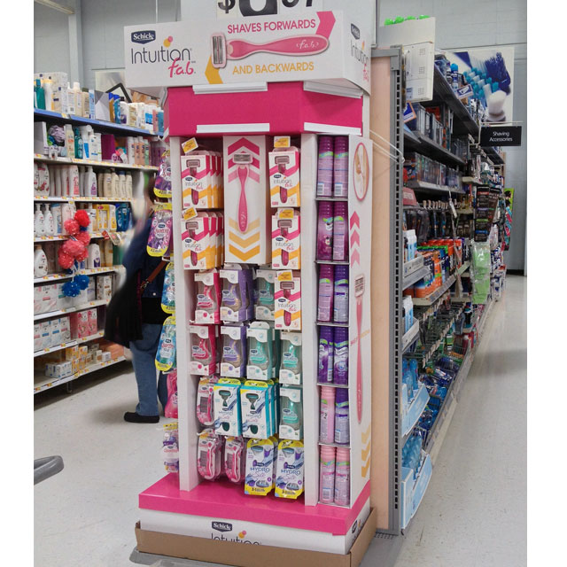 Schick Intuition F.a.b. End Cap Display