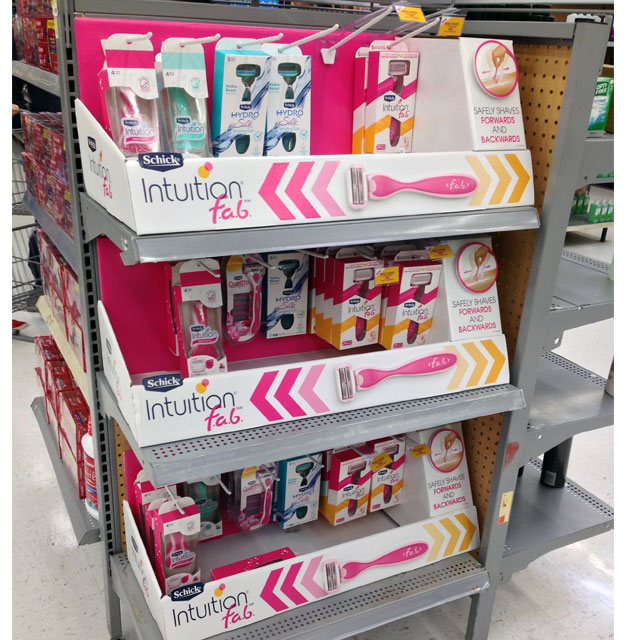 Schick Intuition F.a.b. End Cap Trays