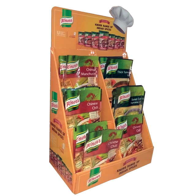Knorr Indian Spice Display