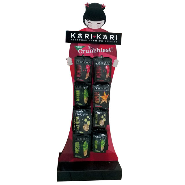Kari Kari Snack Display