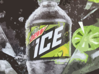 Mountain Dew Lemon Lime Floor Display