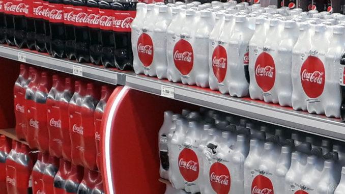 Coca-Cola Aisle Display