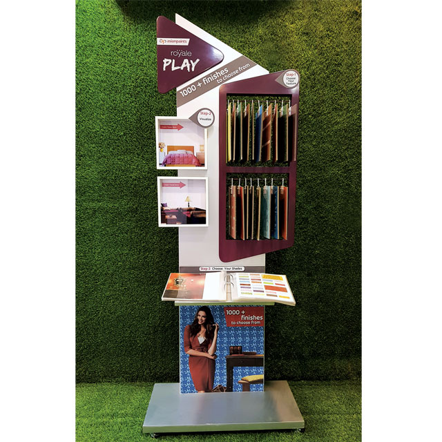 Asian Paints Royale Play Kiosk