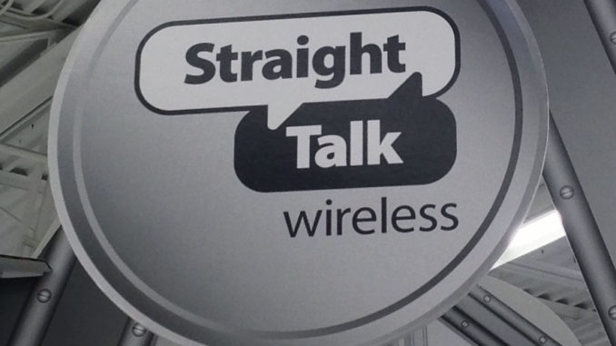 Straight Talk Tower Display