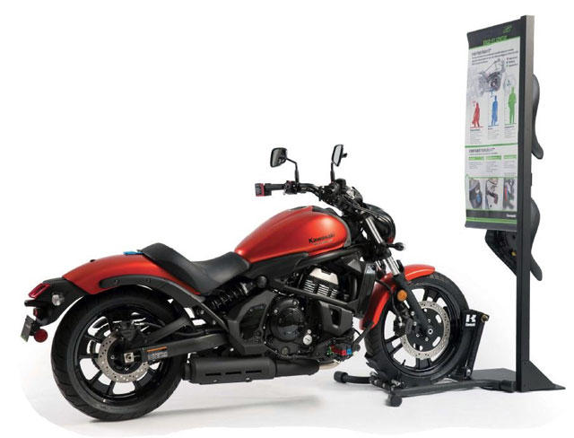 OSI Creative Recognized For Kawasaki Motorcycle Display