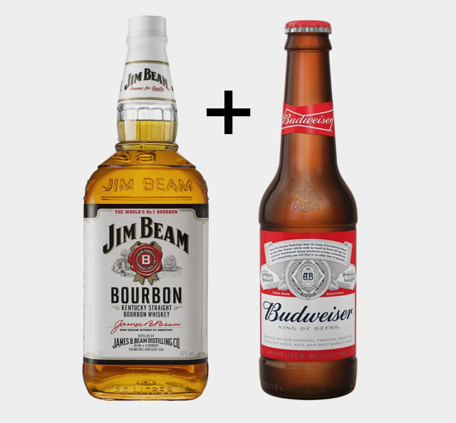 Budweiser and Jim Beam Toast To The Future