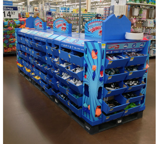Walmart Pallet Train Display