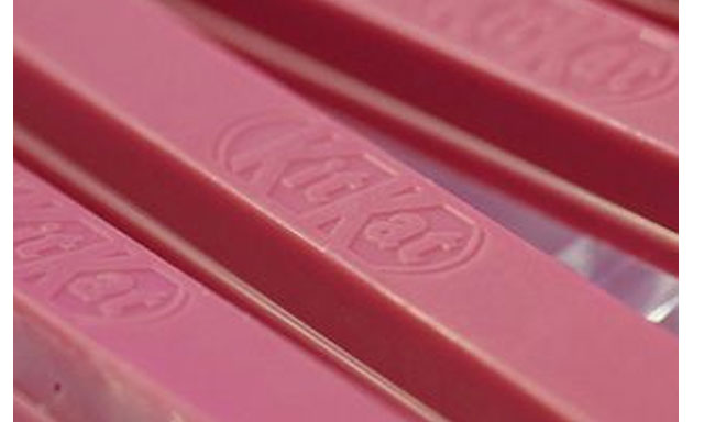 Nestle Launches Pink KitKats