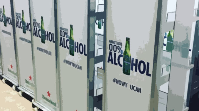 Heineken Alcohol Free Floor Display