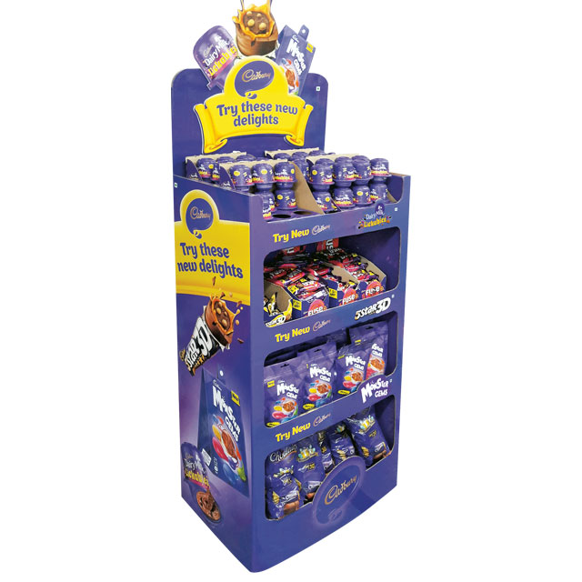Cadbury New Delights Floor Display