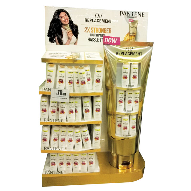 Pantene Oil Replacement Display