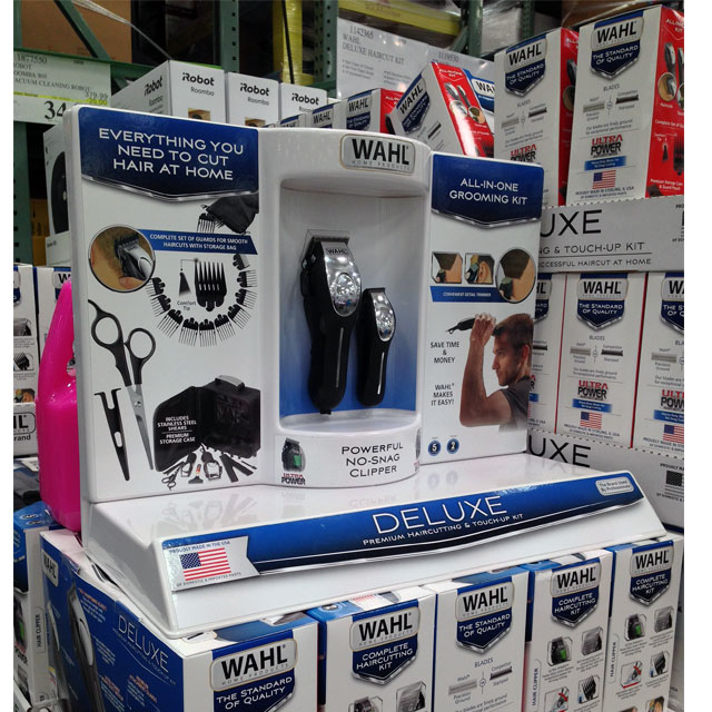 Wahl Hair At Home Demo Display