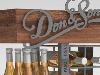 Coyote Concepts Wine Displays