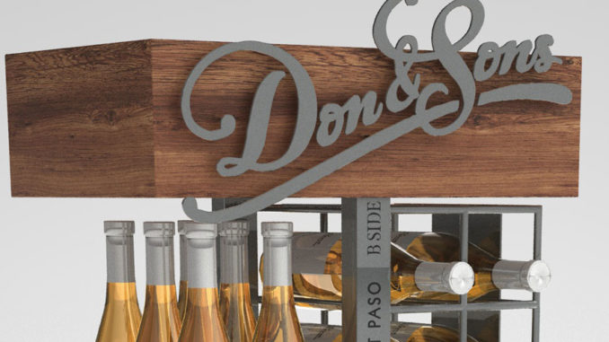 Coyote Concepts Wine Displays