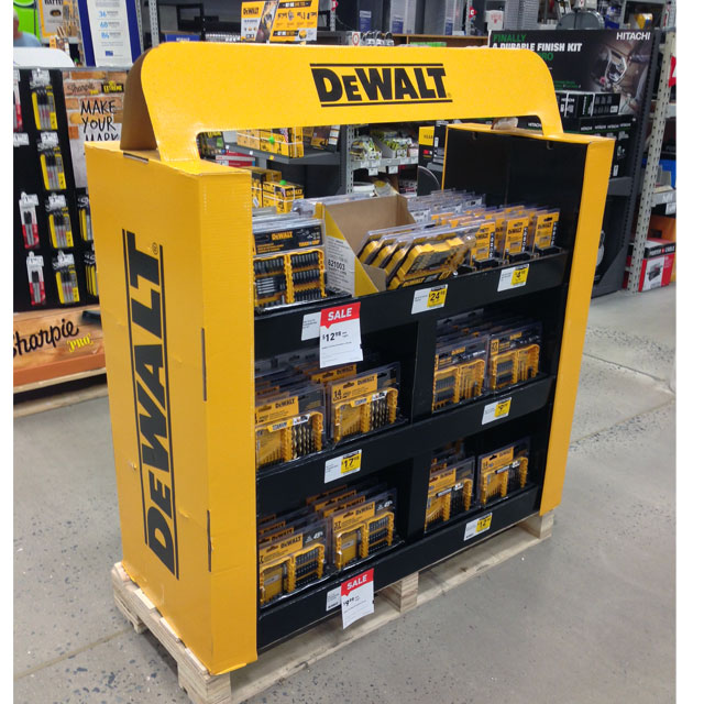 Dewalt Half Pallet Display