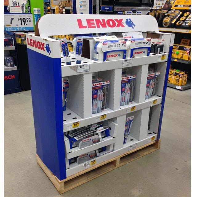 Lenox Half Pallet Display