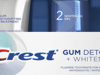 New Crest Toothpaste Helps Improve Gum Health