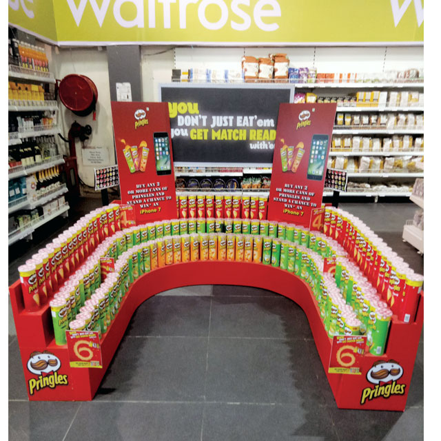 Pringles Stacker Display