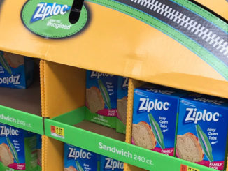 Ziploc Half Pallet Display