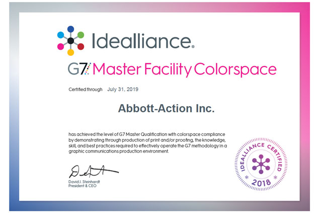 Abbott-Action achieves G7 Master Qualification