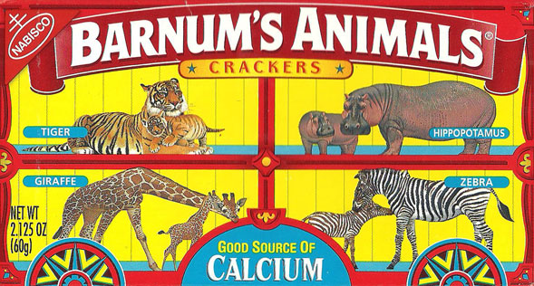 Nabisco Uncages Its Animal Crackers