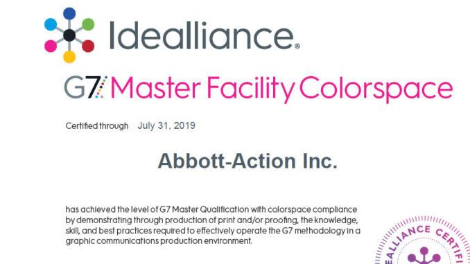 Abbott-Action achieves G7 Master Qualification
