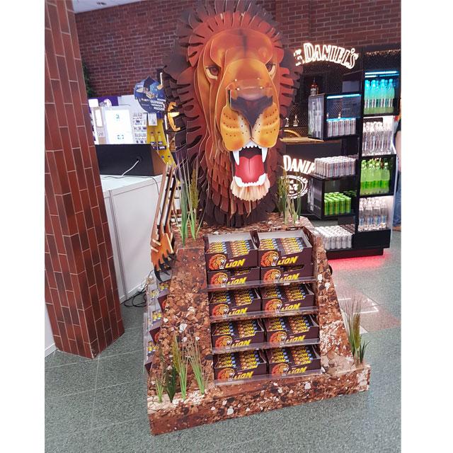 Nestle Lion Floor Display