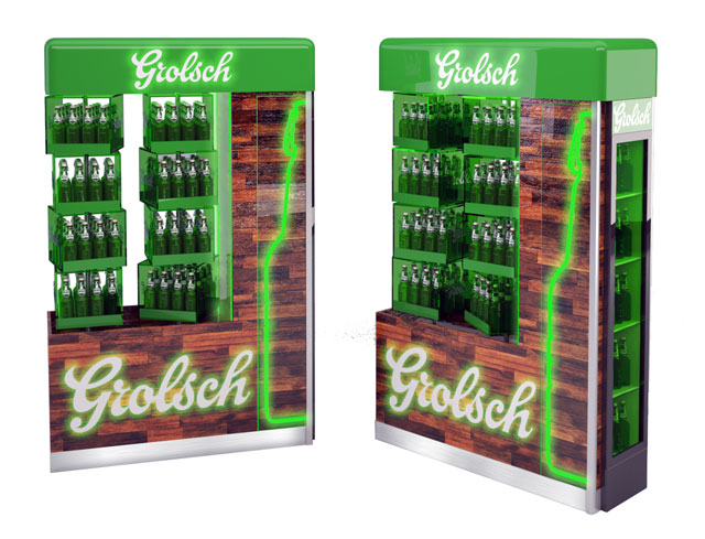 Grolsch Puzzle Floor Display