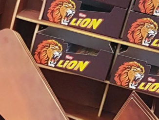 Nestle Lion Floor Display