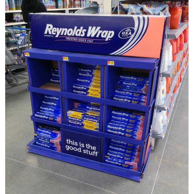 Reynolds Wrap Non Stick Floor Display