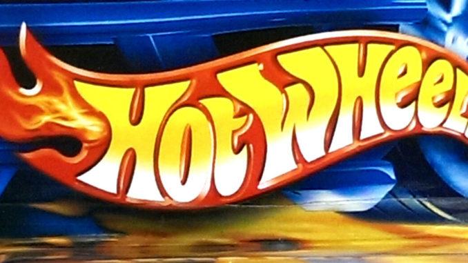 Hot Wheels Car Floor Display