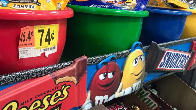 Walmart Sweet Treats Checkout Display