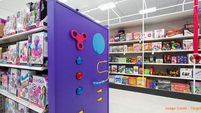 Target Remodeling Toy Departments