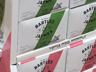 Bartles & Jaymes Wine Cooler Display